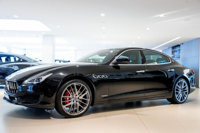 Discounted Demonstrator, Demo, Near New Maserati Quattroporte S Gransport, Artarmon, 2018 Maserati Quattroporte S Gransport Sedan