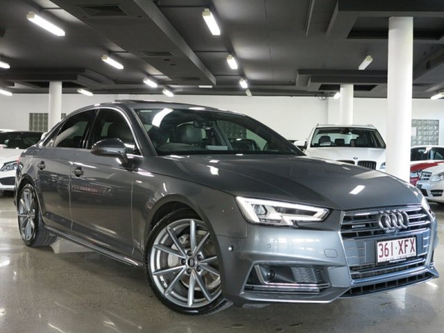 Used Audi A4 S Line S tronic quattro, Albion, 2017 Audi A4 S Line S tronic quattro Sedan