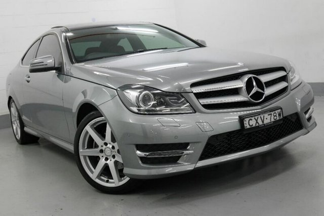 Used Mercedes-Benz C250 Avantgarde 7G-Tronic +, Chatswood, 2015 Mercedes-Benz C250 Avantgarde 7G-Tronic + Coupe