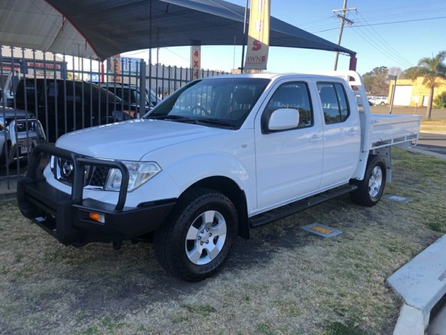 Discounted Used Nissan Navara ST (4x4), Toowoomba, 2010 Nissan Navara ST (4x4) Dual Cab Pick-up