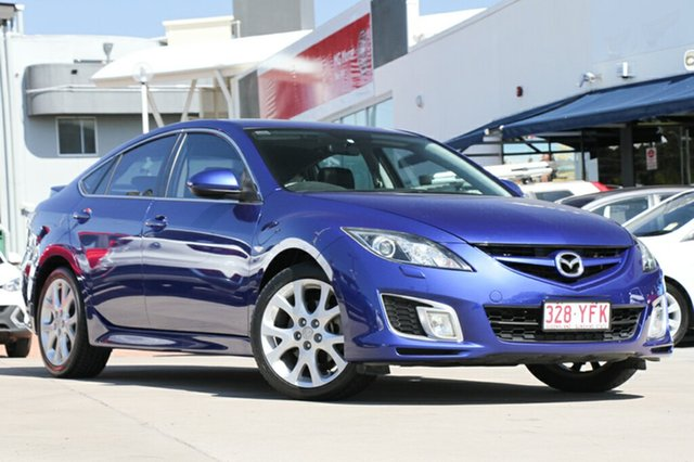 Used Mazda 6 Luxury Sports, Moorooka, Brisbane, 2008 Mazda 6 Luxury Sports Hatchback