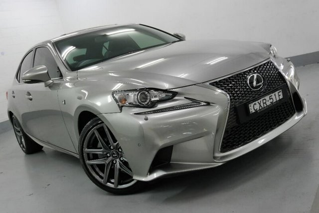 Used Lexus IS250 F Sport, Chatswood, 2014 Lexus IS250 F Sport Sedan