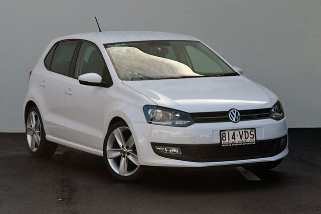 Used Volkswagen Polo 77TSI Comfortline, Southport, 2010 Volkswagen Polo 77TSI Comfortline Hatchback