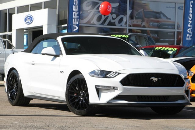 New Ford Mustang GT SelectShift, Beaudesert, 2018 Ford Mustang GT SelectShift Convertible