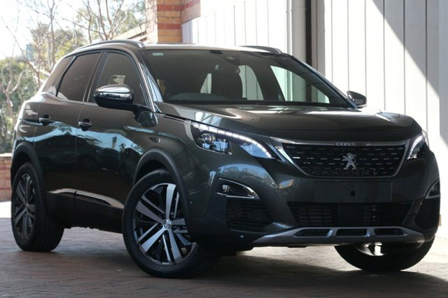 Demonstrator, Demo, Near New Peugeot 3008 GT SUV, Bowen Hills, 2018 Peugeot 3008 GT SUV Hatchback