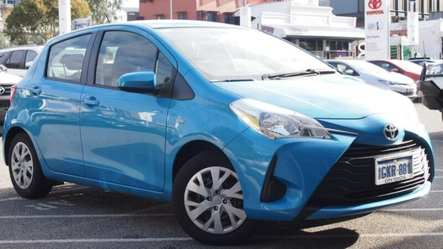 Demonstrator, Demo, Near New Toyota Yaris Ascent, Northbridge, 2017 Toyota Yaris Ascent Hatchback