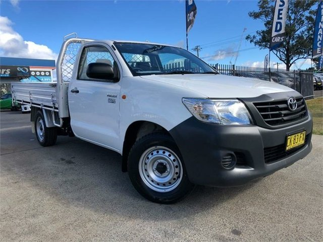 Used Toyota Hilux Workmate, Mulgrave, 2012 Toyota Hilux Workmate Cab Chassis