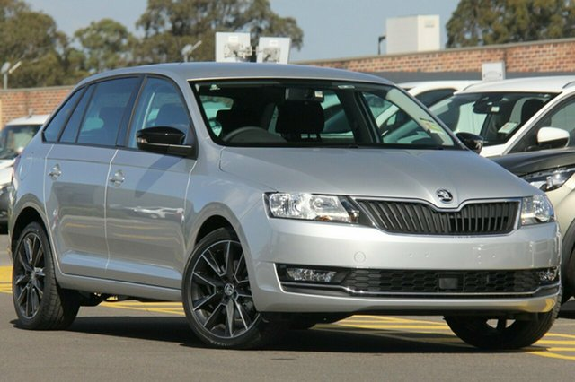Demonstrator, Demo, Near New Skoda Rapid Spaceback DSG, Bowen Hills, 2018 Skoda Rapid Spaceback DSG Hatchback
