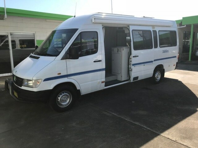 Used Mercedes-Benz Sprinter Motorhome, Casino, 1998 Mercedes-Benz Sprinter Motorhome Panel Van