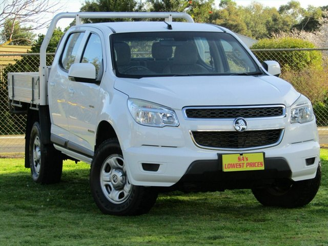 Used Holden Colorado LX Crew Cab, 2012 Holden Colorado LX Crew Cab Cab Chassis