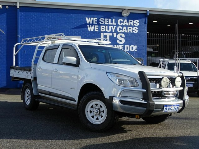 Discounted Used Holden Colorado LX Crew Cab, Welshpool, 2014 Holden Colorado LX Crew Cab Utility