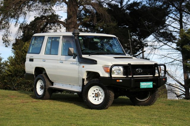 Used Toyota Landcruiser Workmate, Officer, 2010 Toyota Landcruiser Workmate Wagon