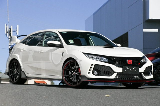 Demonstrator, Demo, Near New Honda Civic Type R, Indooroopilly, 2017 Honda Civic Type R Hatchback