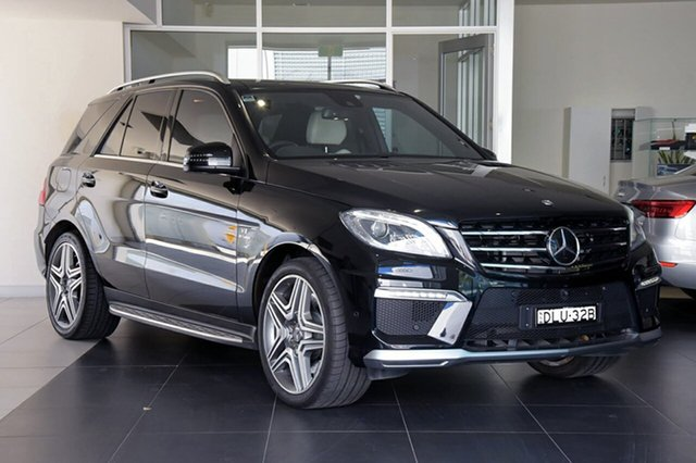 Used Mercedes-Benz ML63 AMG SPEEDSHIFT DCT, Southport, 2014 Mercedes-Benz ML63 AMG SPEEDSHIFT DCT Wagon