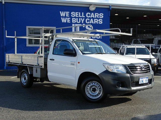 Discounted Used Toyota Hilux Workmate 4x2, Welshpool, 2013 Toyota Hilux Workmate 4x2 Cab Chassis