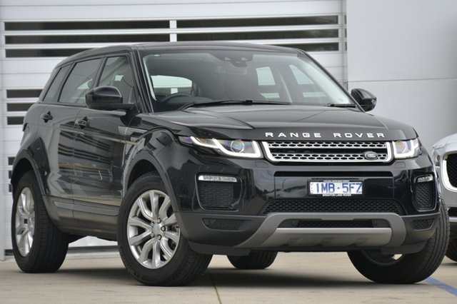 Discounted Demonstrator, Demo, Near New Land Rover Range Rover Evoque TD4 180 SE, Gardenvale, 2017 Land Rover Range Rover Evoque TD4 180 SE Wagon