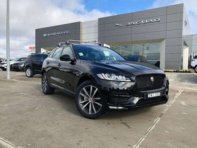 Demonstrator, Demo, Near New Jaguar F-PACE 25d AWD R-Sport, Lavington, 2018 Jaguar F-PACE 25d AWD R-Sport Wagon