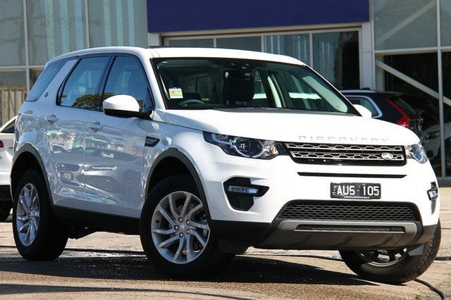 Demonstrator, Demo, Near New Land Rover Discovery Sport TD4 110kW SE, Port Melbourne, 2018 Land Rover Discovery Sport TD4 110kW SE Wagon