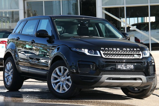 Demonstrator, Demo, Near New Land Rover Range Rover Evoque TD4 150 SE, Port Melbourne, 2018 Land Rover Range Rover Evoque TD4 150 SE Wagon