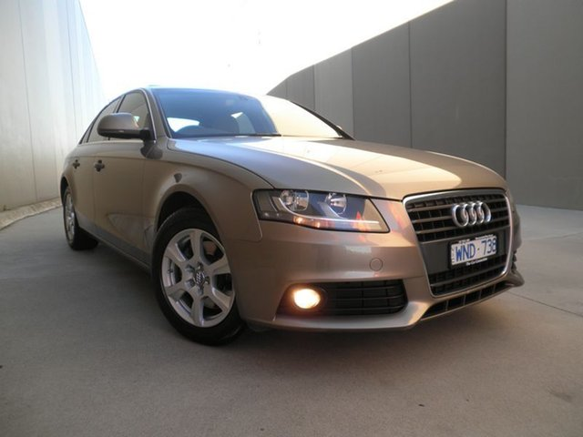 Used Audi A4 Multitronic, Cheltenham, 2008 Audi A4 Multitronic Sedan