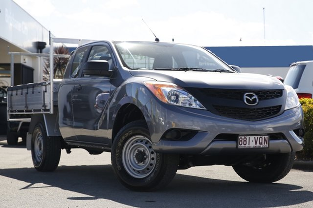 Used Mazda BT-50 XT Freestyle, Bowen Hills, 2015 Mazda BT-50 XT Freestyle Cab Chassis