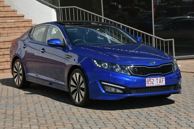 Discounted Used Kia Optima Platinum, Southport, 2012 Kia Optima Platinum Sedan