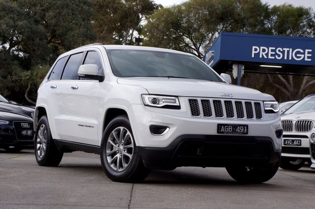 Used Jeep Grand Cherokee Laredo, Balwyn, 2015 Jeep Grand Cherokee Laredo Wagon