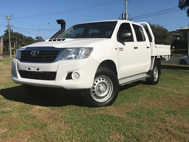 Used Toyota Hilux SR Double Cab, Gympie, 2012 Toyota Hilux SR Double Cab Utility
