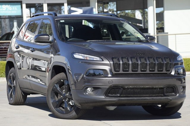 Discounted Demonstrator, Demo, Near New Jeep Cherokee Night Eagle, Narellan, 2017 Jeep Cherokee Night Eagle SUV