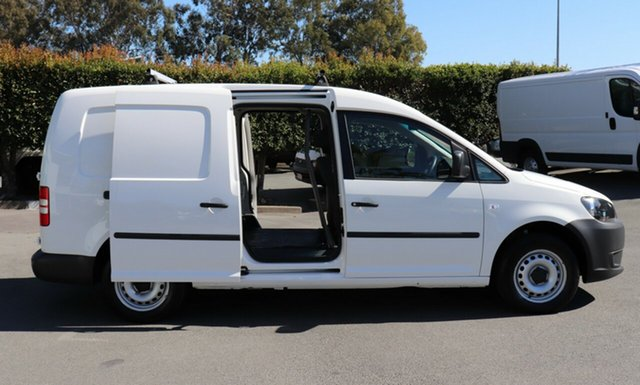 Discounted Used Volkswagen Caddy TDI250 BlueMOTION Maxi DSG, Acacia Ridge, 2015 Volkswagen Caddy TDI250 BlueMOTION Maxi DSG 2KN MY15 Van