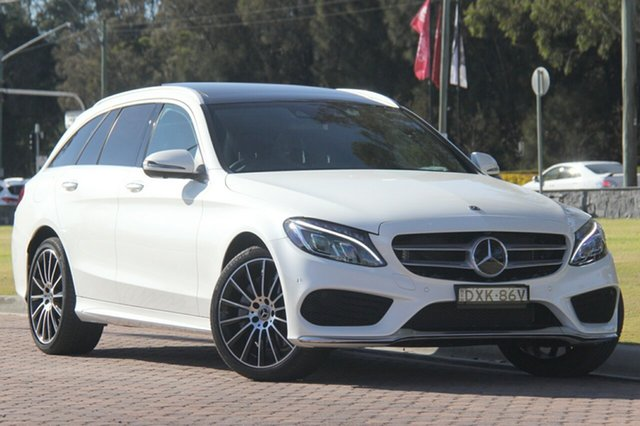 Demonstrator, Demo, Near New Mercedes-Benz C300 Estate 9G-Tronic, Narellan, 2017 Mercedes-Benz C300 Estate 9G-Tronic Wagon