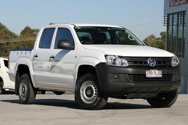Used Volkswagen Amarok TDI400 4Mot Trendline, Moorooka, Brisbane, 2014 Volkswagen Amarok TDI400 4Mot Trendline Utility