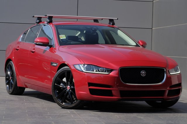 Demonstrator, Demo, Near New Jaguar XE 20t Prestige, Newstead, 2017 Jaguar XE 20t Prestige Sedan