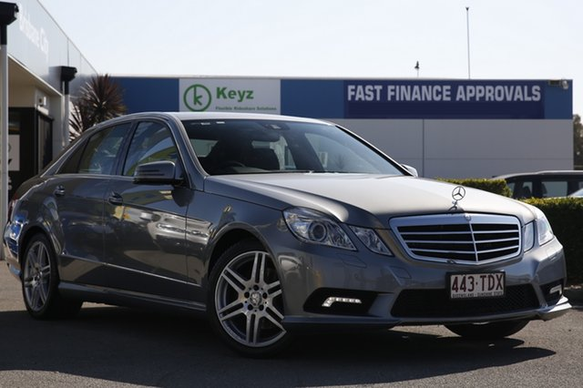 Used Mercedes-Benz E350 CDI BlueEFFICIENCY 7G-Tronic Avantgarde, Toowong, 2009 Mercedes-Benz E350 CDI BlueEFFICIENCY 7G-Tronic Avantgarde Sedan