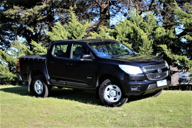 Used Holden Colorado LX Crew Cab, Officer, 2013 Holden Colorado LX Crew Cab Utility