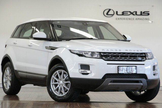 Used Land Rover Range Rover Evoque TD4 Pure, Adelaide, 2015 Land Rover Range Rover Evoque TD4 Pure Wagon