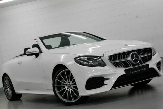 Used Mercedes-Benz E300 9G-Tronic PLUS, Warwick Farm, 2017 Mercedes-Benz E300 9G-Tronic PLUS Cabriolet