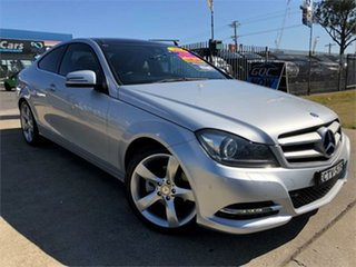 2013 Mercedes-Benz C250 CDI Coupe.
