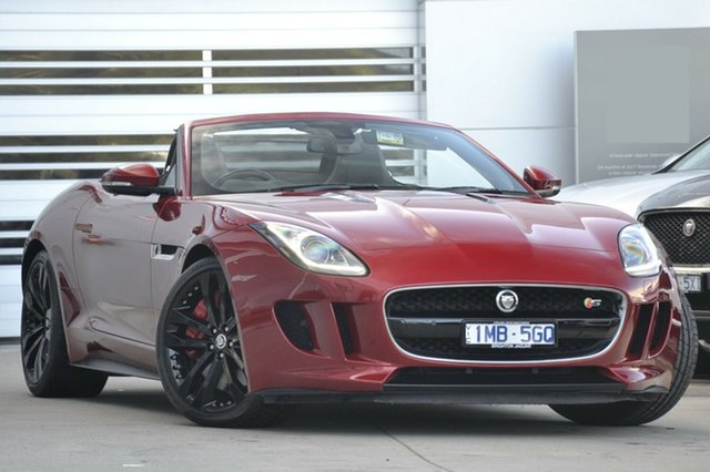 Discounted Used Jaguar F-TYPE S, Gardenvale, 2013 Jaguar F-TYPE S Convertible