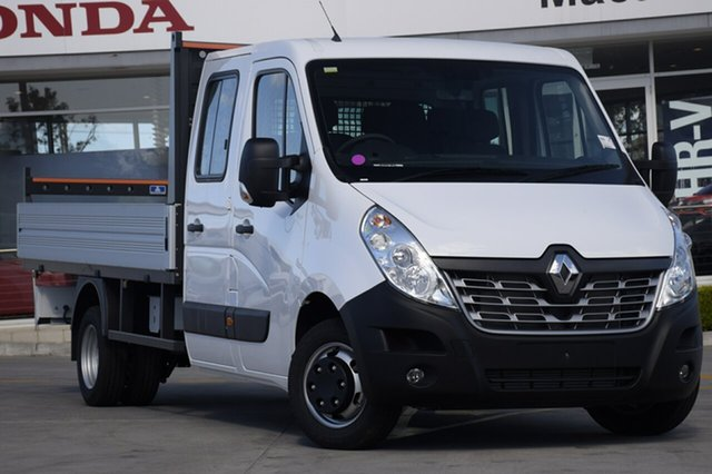 Discounted Demonstrator, Demo, Near New Renault Master Double Cab LWB AMT RWD, Southport, 2017 Renault Master Double Cab LWB AMT RWD Cab Chassis