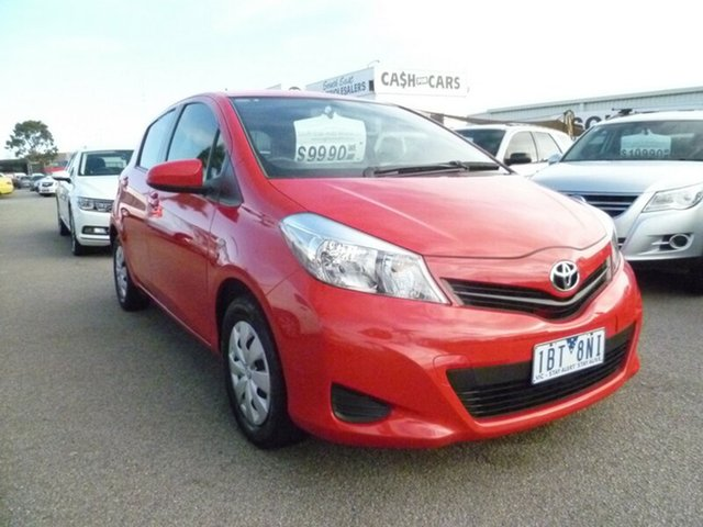 Discounted Used Toyota Yaris YR, Cheltenham, 2014 Toyota Yaris YR Hatchback