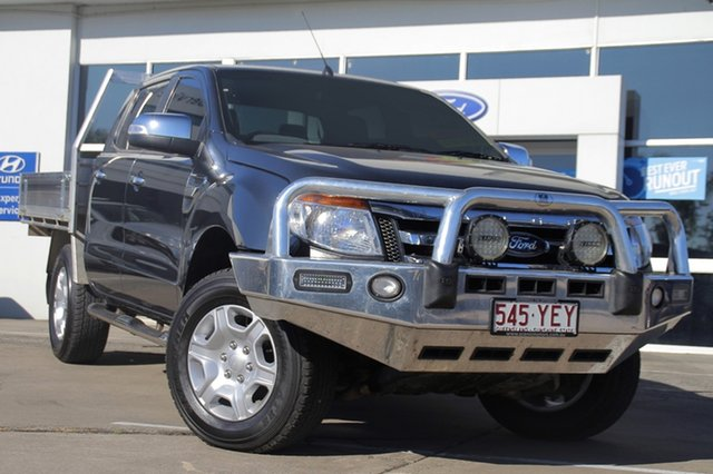 Used Ford Ranger XLT Double Cab, Beaudesert, 2012 Ford Ranger XLT Double Cab Utility