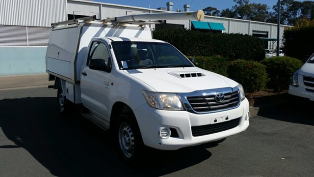 Used Toyota Hilux SR, Acacia Ridge, 2014 Toyota Hilux SR KUN26R MY14 Cab Chassis