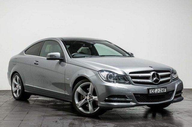 Used Mercedes-Benz C350 BlueEFFICIENCY 7G-Tronic +, Rozelle, 2012 Mercedes-Benz C350 BlueEFFICIENCY 7G-Tronic + Coupe
