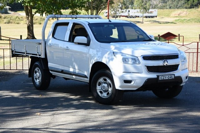 Used Holden Colorado LS Crew Cab, Southport, 2015 Holden Colorado LS Crew Cab Cab Chassis