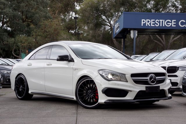 Used Mercedes-Benz CLA45 AMG SPEEDSHIFT DCT 4MATIC, Balwyn, 2013 Mercedes-Benz CLA45 AMG SPEEDSHIFT DCT 4MATIC Coupe