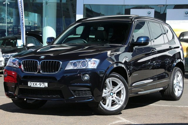 Used BMW X3 xDrive 20D, Brookvale, 2014 BMW X3 xDrive 20D Wagon