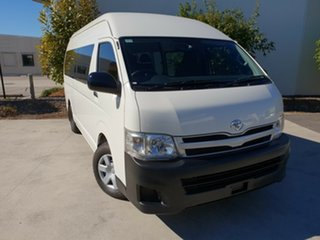 Used Toyota Hiace Commuter High Roof Super LWB, Robina, 2012 Toyota Hiace Commuter High Roof Super LWB KDH223R MY12 Bus