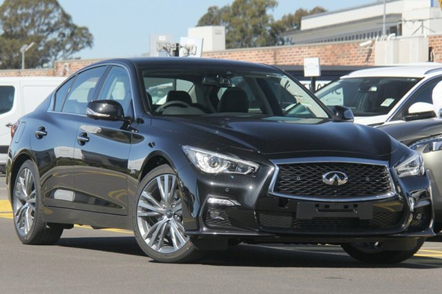 Discounted Demonstrator, Demo, Near New Infiniti Q50 S Premium, Warwick Farm, 2018 Infiniti Q50 S Premium Sedan