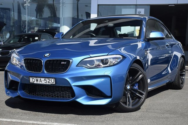 Demonstrator, Demo, Near New BMW M2 D-CT, Brookvale, 2017 BMW M2 D-CT Coupe